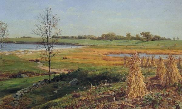 Connecticut Shoreline in Autumn